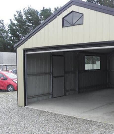 Single Double Garages Second